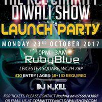 KCL Charity Diwali Show Launch Party