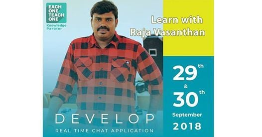 Learn with Raja Vasanthan - Istardevelopers