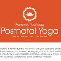 Yoga for new mums and babies
