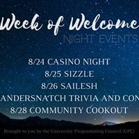 Week Of Welcome Night Events