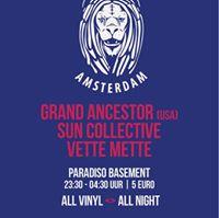 DUB Explorations at Paradiso w Grand Ancestor Sun Collective Vette Mette