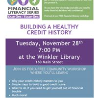 Community Financial Literacy Workshop - Winkler