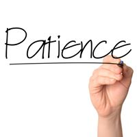 Sunday Meditation - Patience in Daily Life