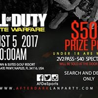 Call of duty IW Tournament 500 Prize pool