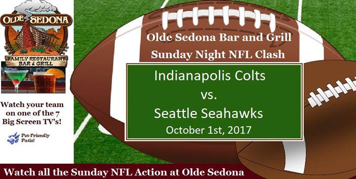 NFL Sunday at Olde Sedona