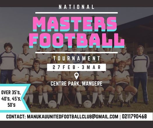 National Masters Football Tournament