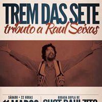 1103 Sbado - Tributo a RAUL Seixas com banda Trem Das Sete