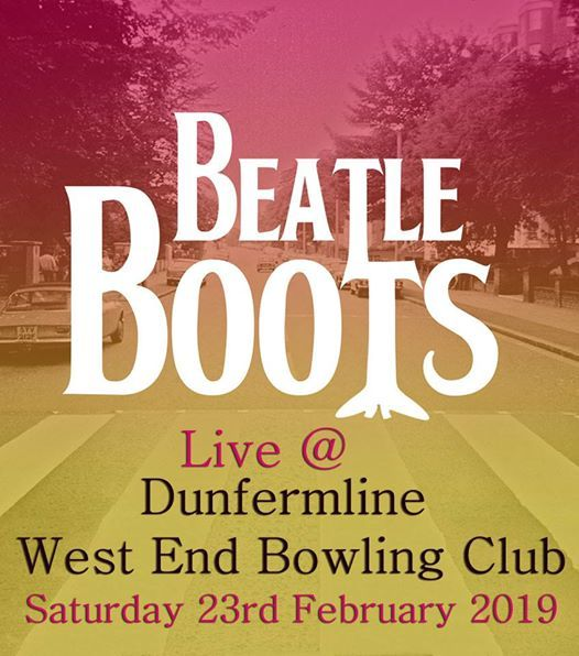 Beatleboots Live at Dunfermline West End Bowling Club
