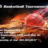 DASH 5 on 5 Basketball Tournment