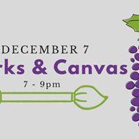 December Corks &amp Canvas