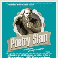 Poetry Slam an der Ricarda-Huch-Schule
