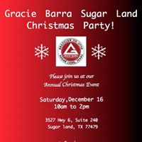 Gracie Barra Sugar Land Christmas Party