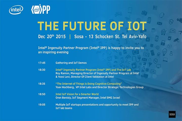 The Future of IoT - Intel® Ingenuity Partner Program ...