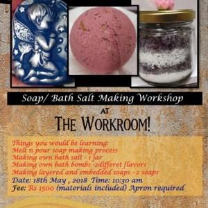 Soap  Bath Salt Making Workshop