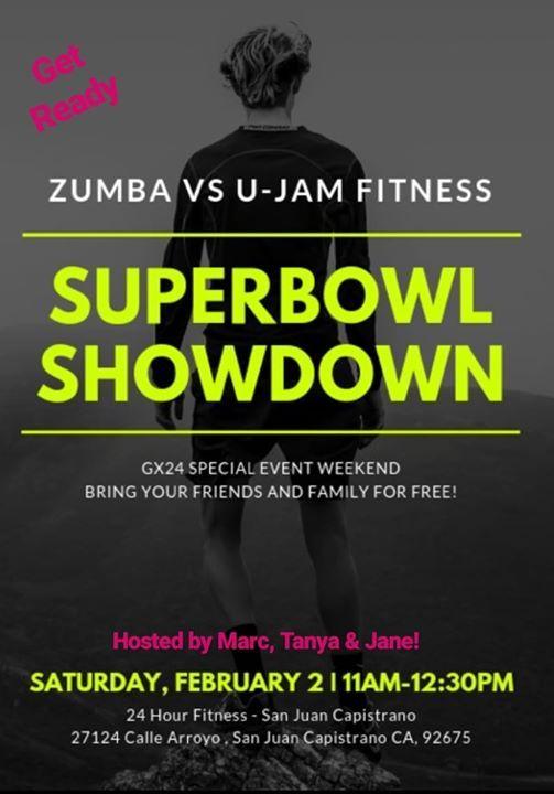 Superbowl Showdown At 24 Hour Fitness San Juan Capistrano Ca27124