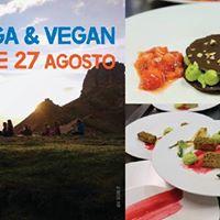 Yoga e Vegan in Alta Quota