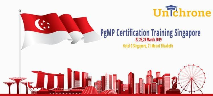 PgMP Training Course in Singapore