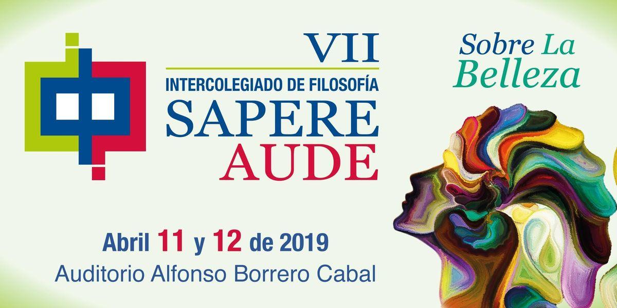 VII Intercolegiado de filosofa Sapere Aude