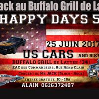 Mr Jack au Buffalo Grill pour le Happy Days 5