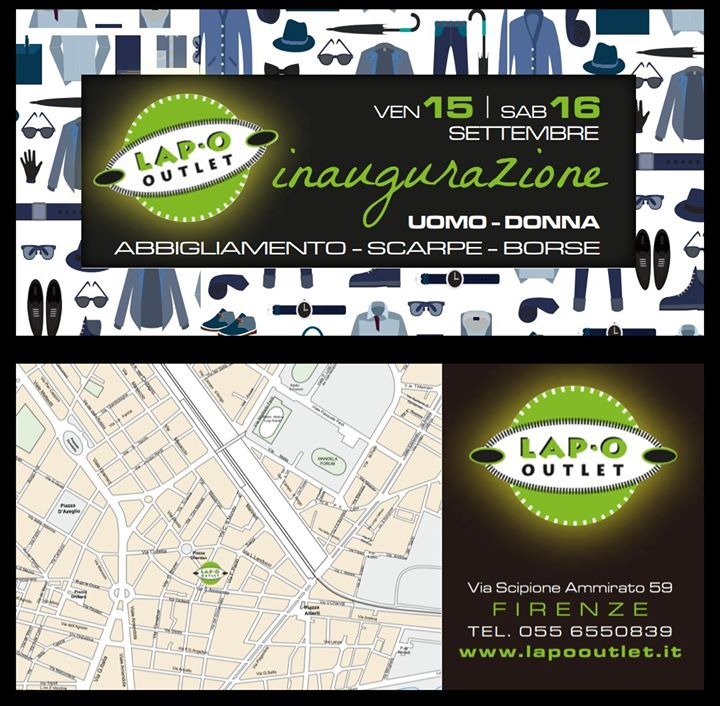 Inaugurazione Lapo Outlet Firenze at Via Scipione Ammirato 59, Firenze