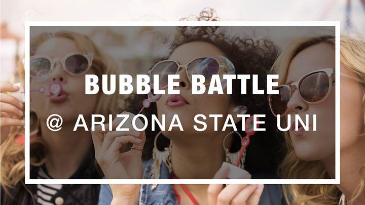 Bubble Battle World Record at Arizona State University