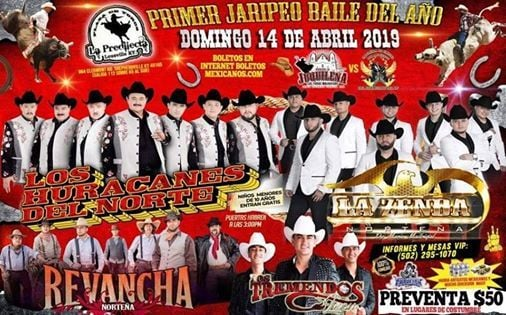PRIMER JARIPEO BAILE DEL AÑO 2019 at Sheperdsville, Ky