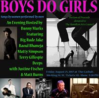 Boys Do Girls Songs by women performed by men