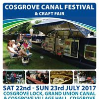 Annual Cosgrove Canal Festival and Craft Fair