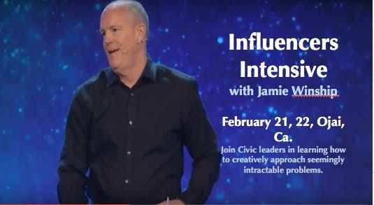Two Day Influencers Intensive with Jamie Winship