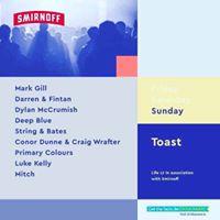 DeepBlue Toast Stage  Life FestSunday
