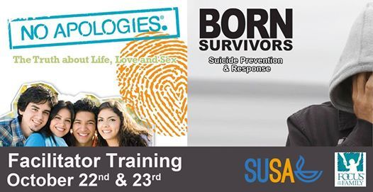 Facilitator Training for No Apologies and Born Surviviors