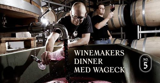 Winemakers Dinner med Wageck