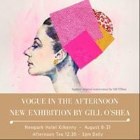 Watercolour Demo &amp Afternoon Tea with Gill