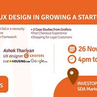 Role of UX Design in Growing a Startup-Delhi