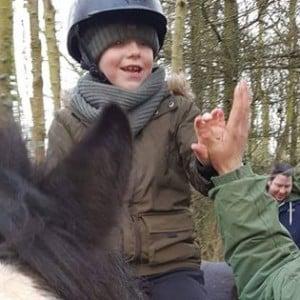 Snowflakes Horse Riding Saturday Class