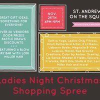 Ladies Night Christmas Shopping Spree