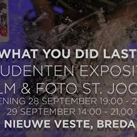Exhibition &quotI know what you did last summer&quot