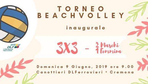 Torneo Beach Volley 3x3 alla Ferro