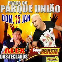 Capa de Revista  Alex dos Teclados no Parque Unio