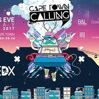 Cape Town Calling NYE 2017