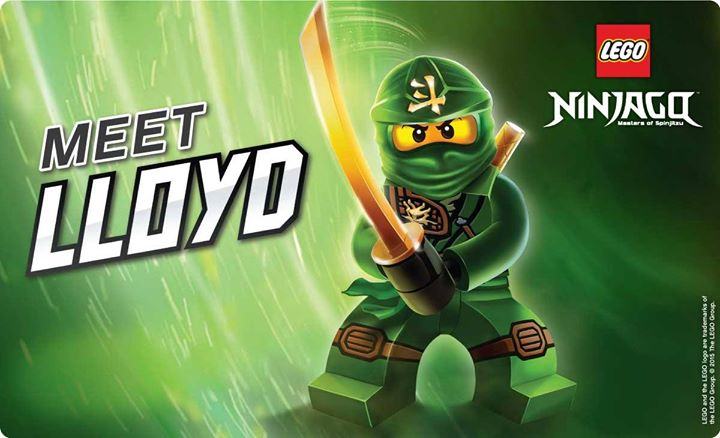 Meet Lego Ninjago Lloyd! at King\'s Walk Shopping Centre Gloucester ...