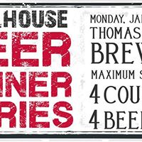 Beer Dinner - Thomas Hooker