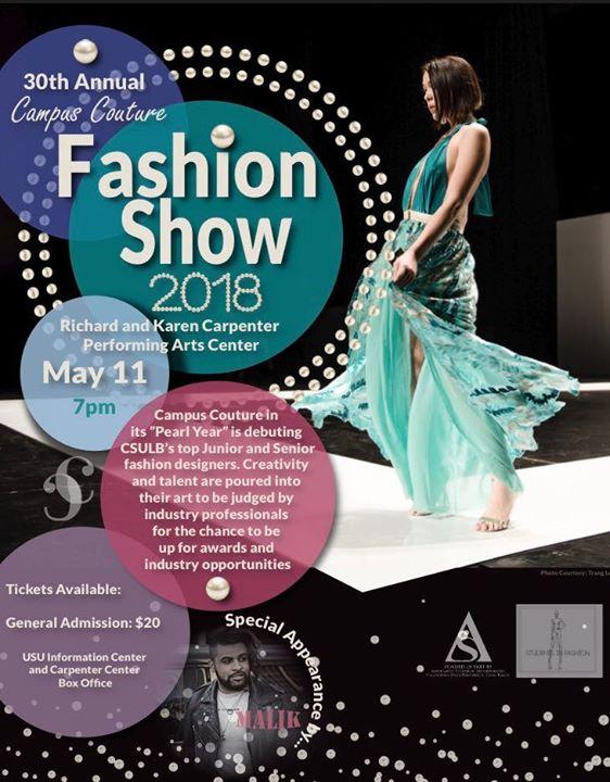 Cal State Long Beach 30th Annual Campus Couture Fashion Show