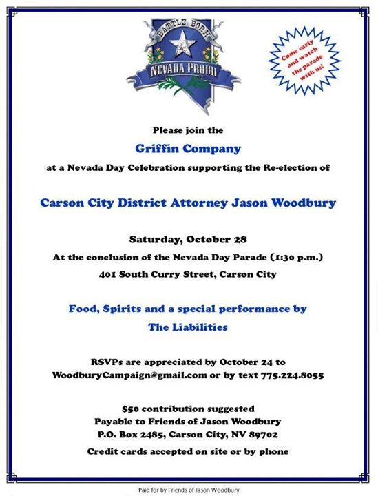 campaign kickoff re elect jason woodbury cc district attorney at
