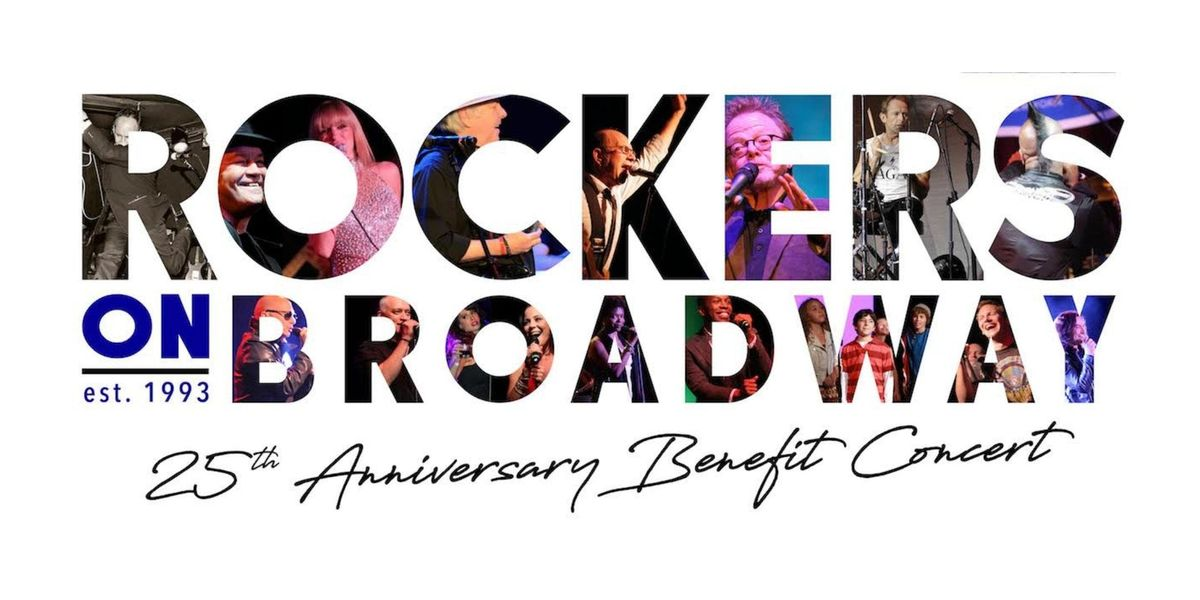 ROCKERS ON BROADWAY(R) 25th Anniversary Benefit Concert at (le) poisson rouge