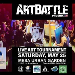 Art Battle Phoenix - May 25 2019