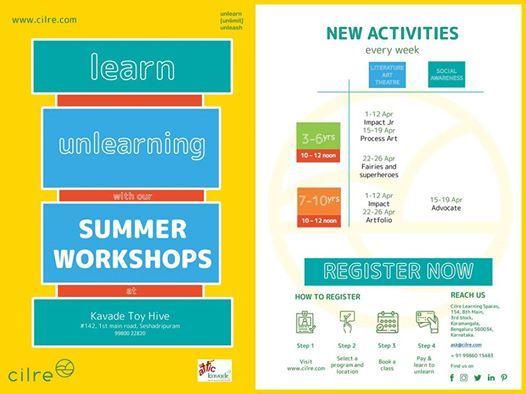 Summer camps for kids - Kavade toy hive seshadripuram