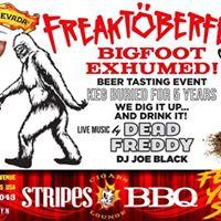 8th Annual Freaktoberfest Bigfoot exhumed Tasting Event