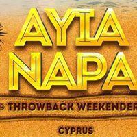 Ayia Napa Throwback Weekender 2018