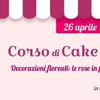 Corso di cake design le rose di pasta di zucchero